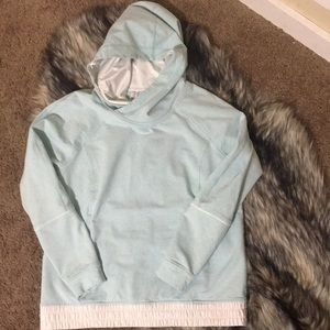 Lululemon All Good light blue hoodie size 8